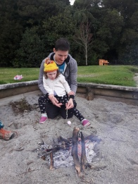 Sophias birthday campfire (3)